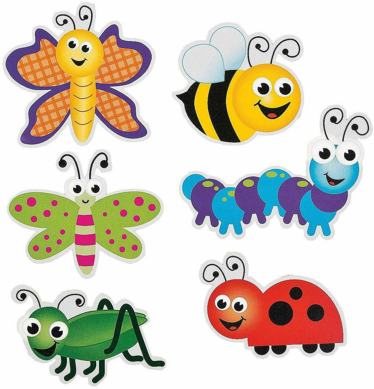 Bug Cutouts (Set of 48) Bulletin Board