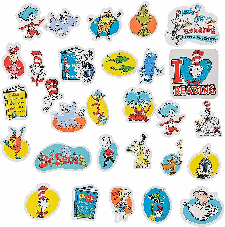 Amscan Dr. Seuss Books Cutouts