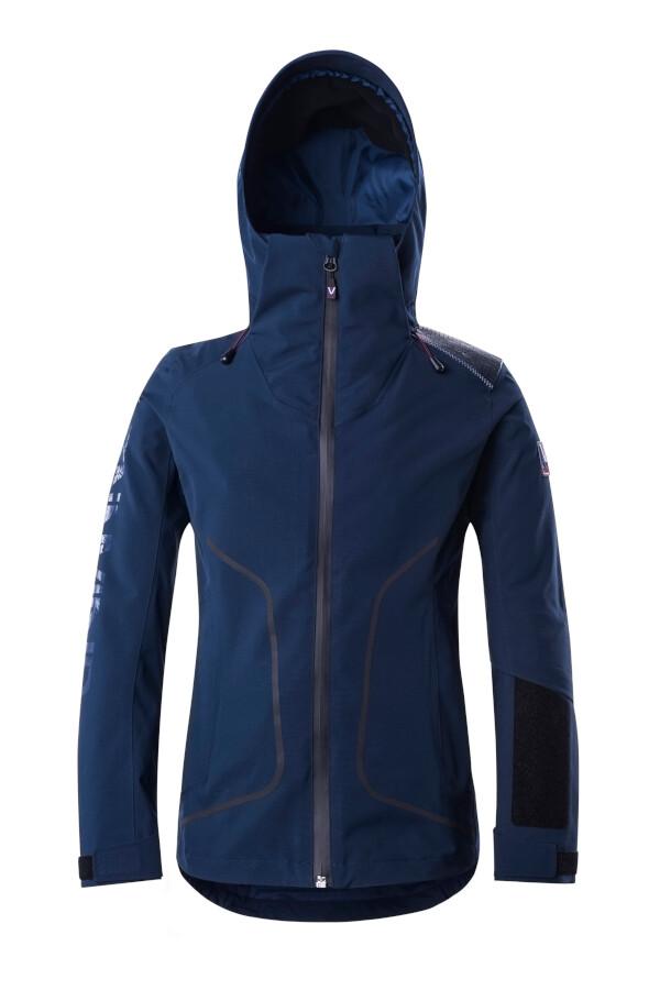 Funktions-Jacke Dresss Blue Damen mit Kapuze