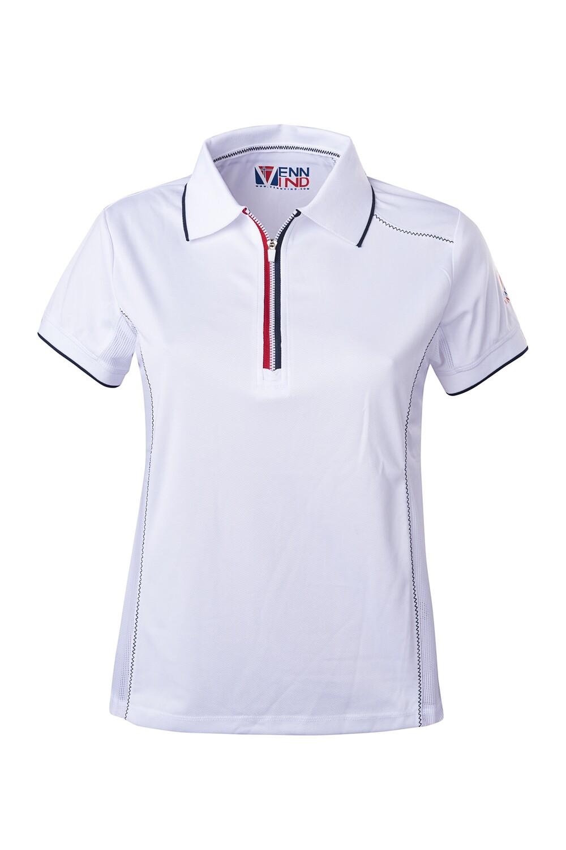 T-Shirt Polo White Damen
