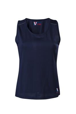 T-Shirt Top Damen Blue Atol