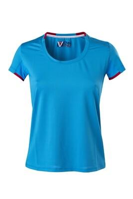 T-Shirt Blue Atol Damen