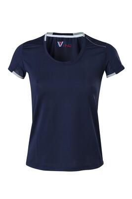 T-Shirt Dress Blue Damen