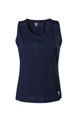 T-Shirt Top Damen Dress Blue