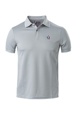 Polo Herren Ghost Grey