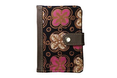 Batik Passport Holder - Pink Anggerik