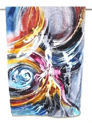 Langit & Bumi - Exclusive Cotton Silk Batik Scarf