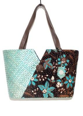Penarik Tote Bag - Royal Flowers