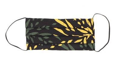 Reusable Batik Face Mask - Green Shoots