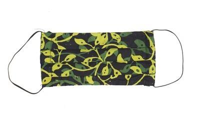 Reusable Batik Face Mask - Dark Forest