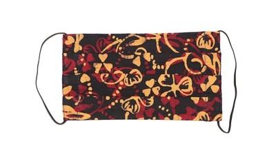 Reusable Batik Face Mask - Autumn