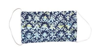 Reusable Batik Face Mask - Marvelous Blue