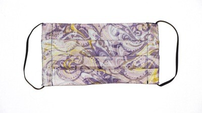 Reusable Batik Face Mask - Marvelous Purple