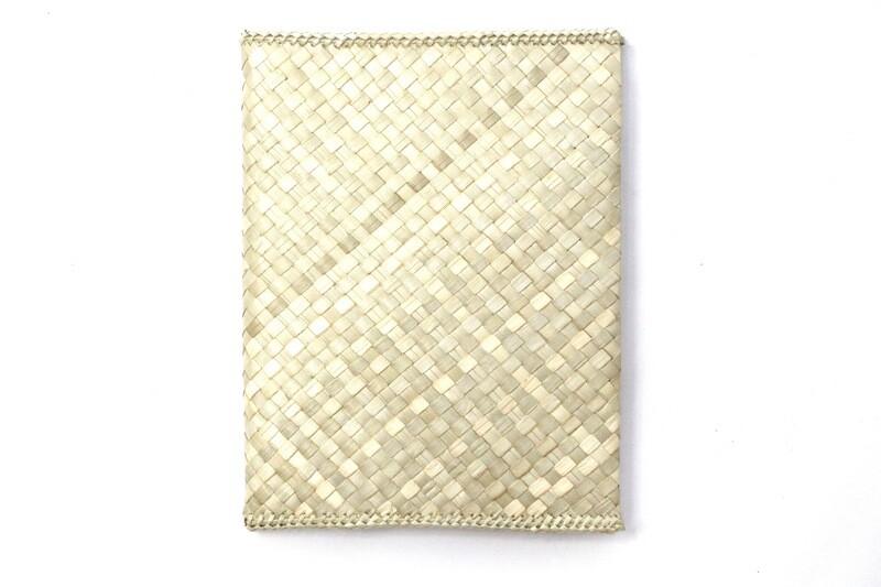 Mengkuang Notebook Cover - Soft Natural