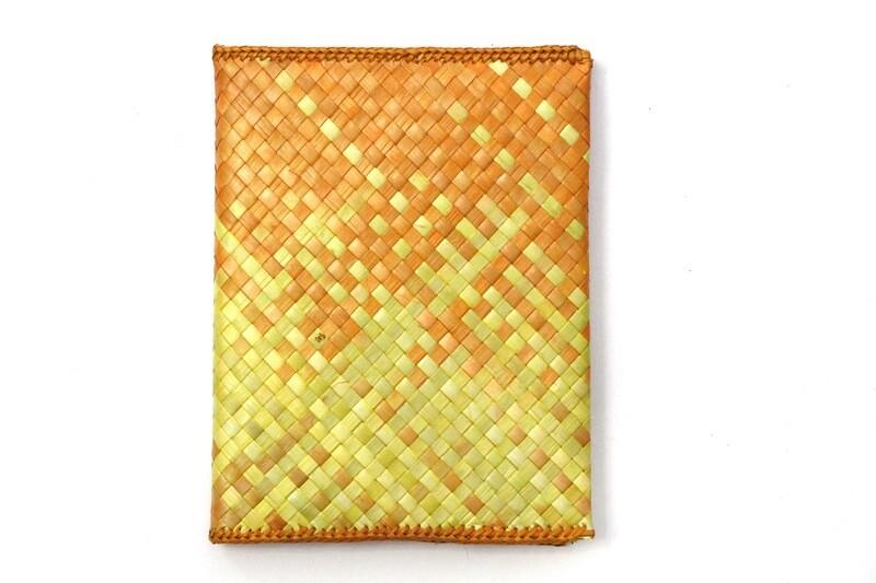 Mengkuang Notebook Cover - Sunny Hues