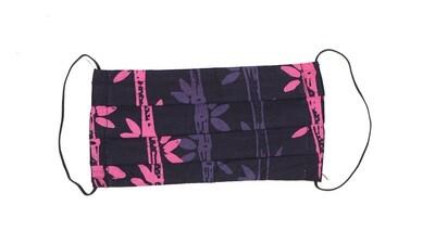 Reusable Batik Face Mask - Pink Jungle