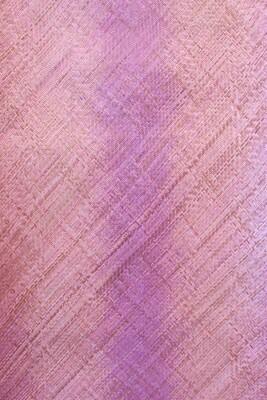 Fine Pandan Mat with Kelarai Weave - Ombre Rose (3ft x 6ft)