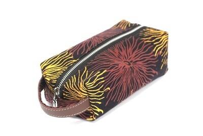 Batik Pouch (Medium) - Fireworks