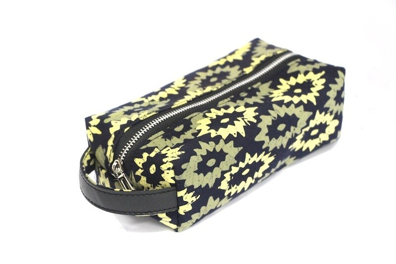 Batik Pouch (Medium) - Yellow