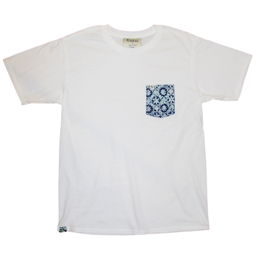 Unisex Pocket Tee - White