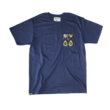 Unisex Pocket Tee - Navy Blue