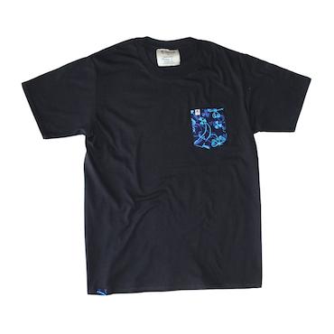 Unisex Pocket Tee - Neptune Black