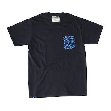 Unisex Pocket Tee - Neptune Black