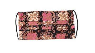 Reusable Batik Face Mask - Pink Anggerik