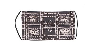 Reusable Batik Face Mask - Geometrical