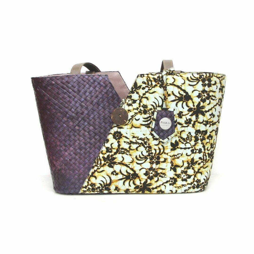 Penarik Tote Bag - Golden Black