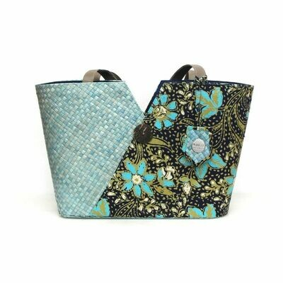 Penarik Tote Bag - Royal Flowers