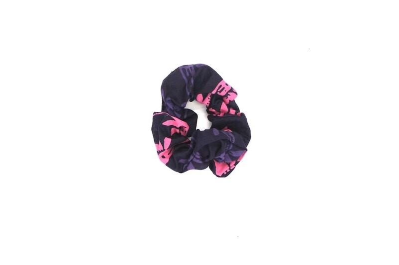 Batik Scrunchie - Pink Jungle