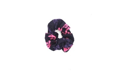 Batik Scrunchie - Pink Jungle