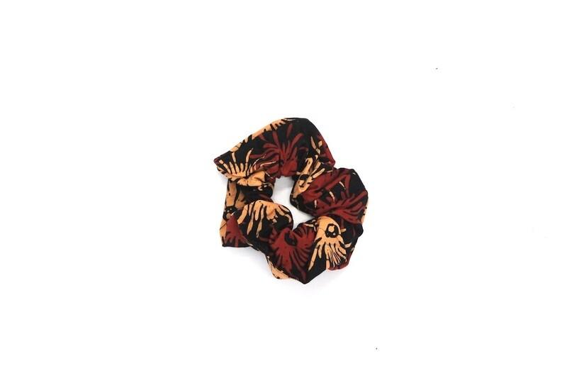 Batik Scrunchie - Small Fireworks