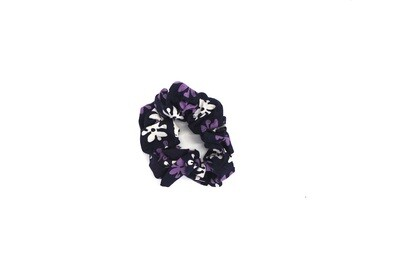 Batik Scrunchie - Purple Bouton d'Or