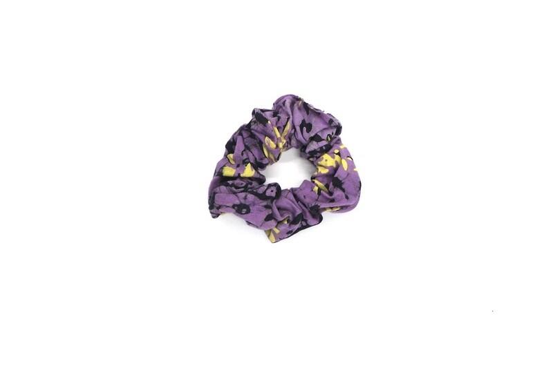 Batik Scrunchie - Purple