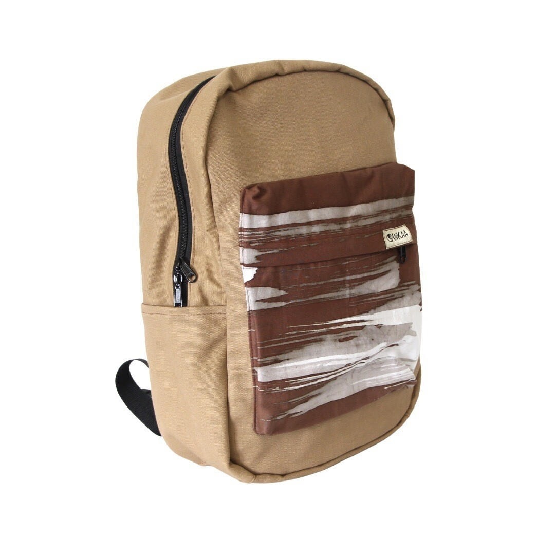 Siang Signature Backpack - Shades of Brown