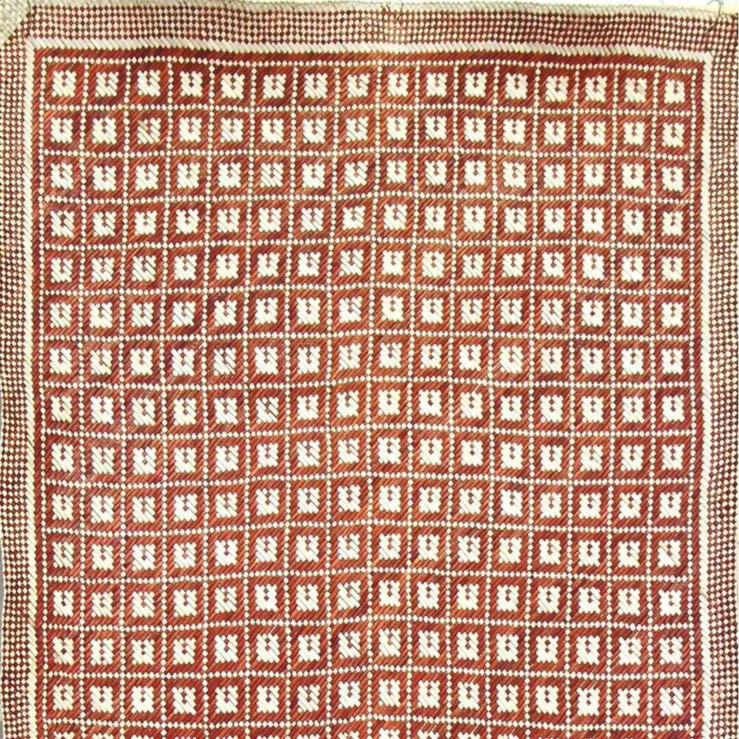 Earthy Durian's Flower Finely-Woven Kelarai Mat (2ft x 4ft)