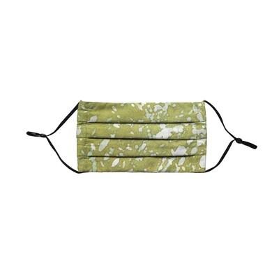 Reusable Batik Face Mask - Spring Green