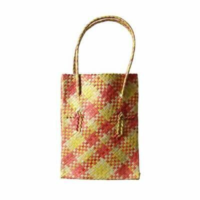 Rustic Mengkuang Tote Bag - Summer