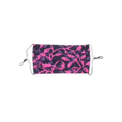 Reusable Batik Face Mask - Misty Pink
