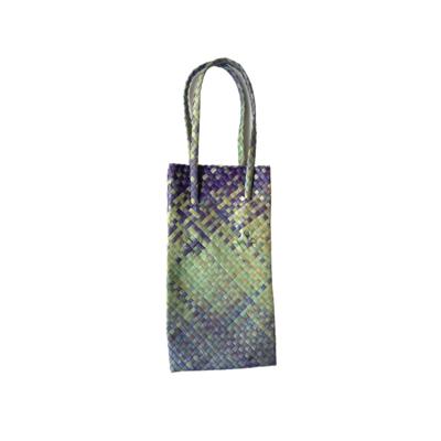 Mengkuang Bottle Bag - Ocean Hues