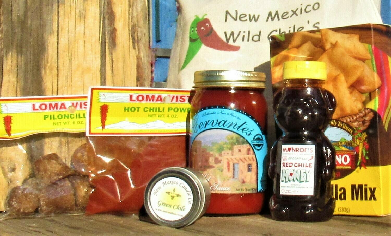 """New Mexico """"Hot"""" Wild Chile Box"""