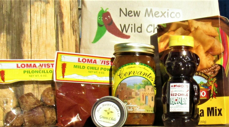 """New Mexico """"Mild"""" Wild Chile box"""