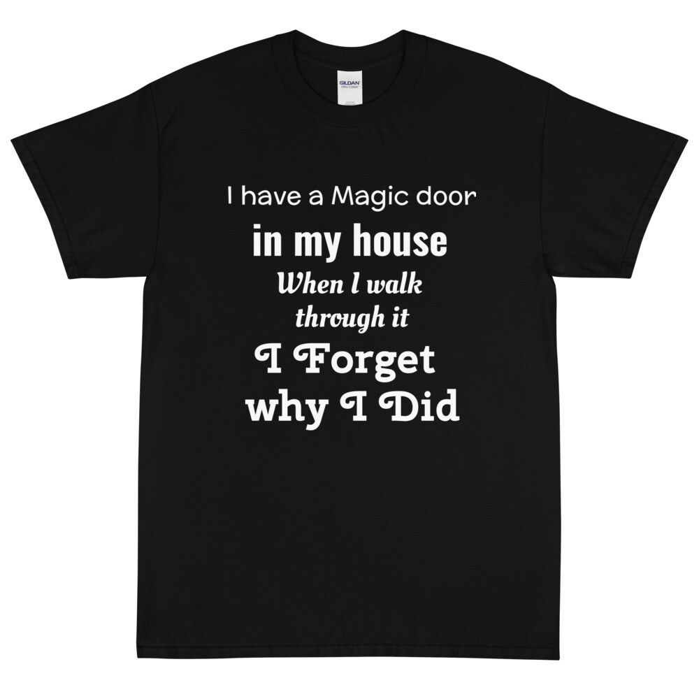""" i have a magic door"" tee"