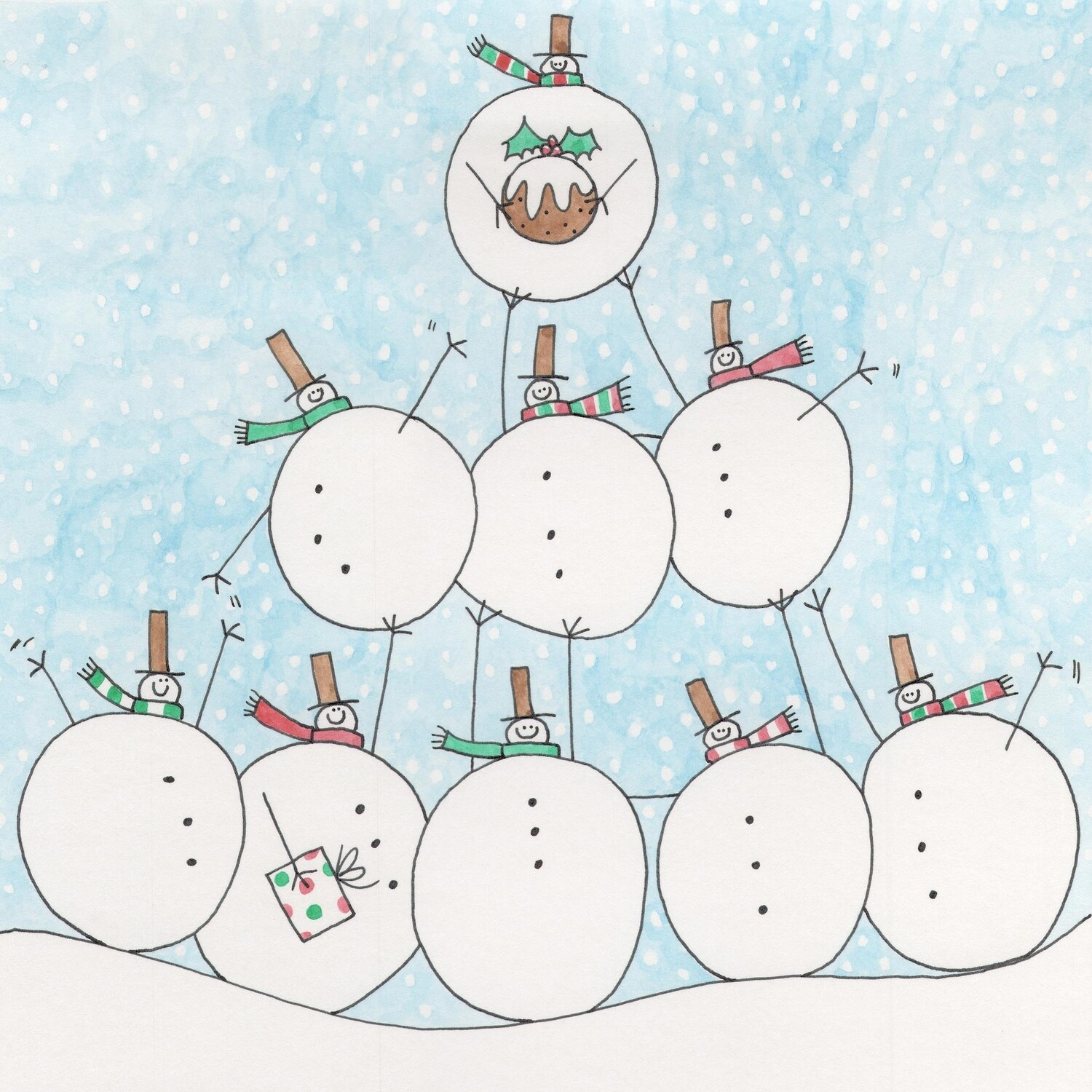 PREORDER pack of 10 Christmas cards