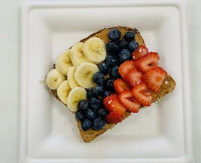 Berry Banana PB Toast