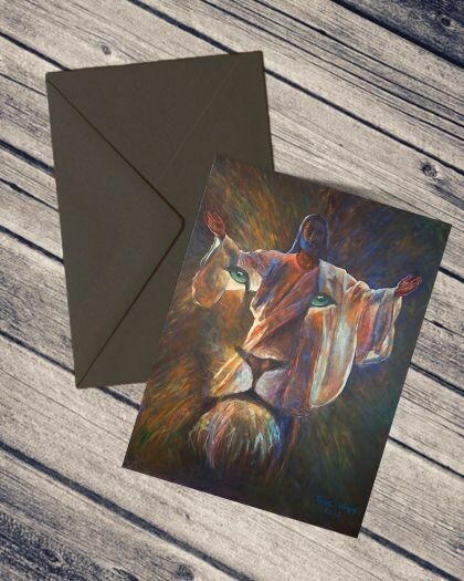 Lion of Judah (set of 5 cards)