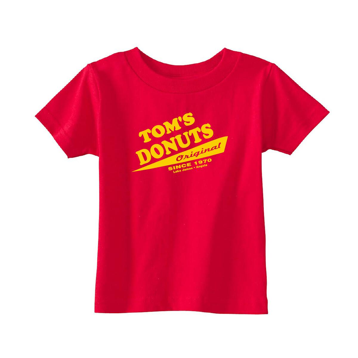 Red Tom's Original Kids Tee