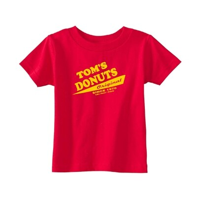Red Tom's Original Kids Tee